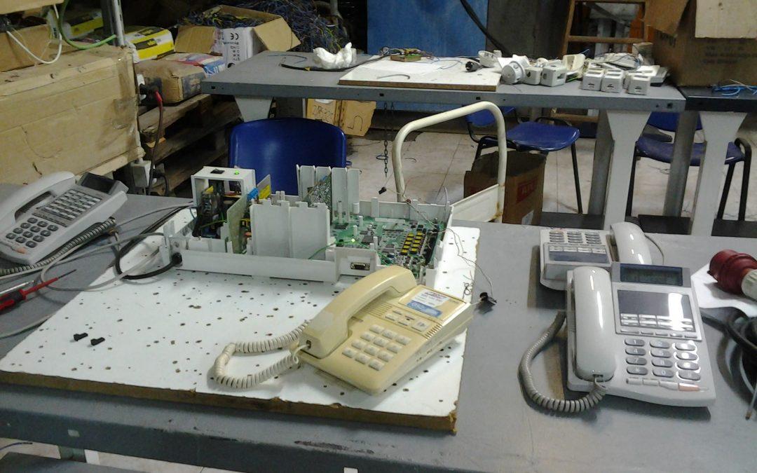 Montaje y mantenimiento de sistemas de telefonía e infraestructuras de redes locales de datos