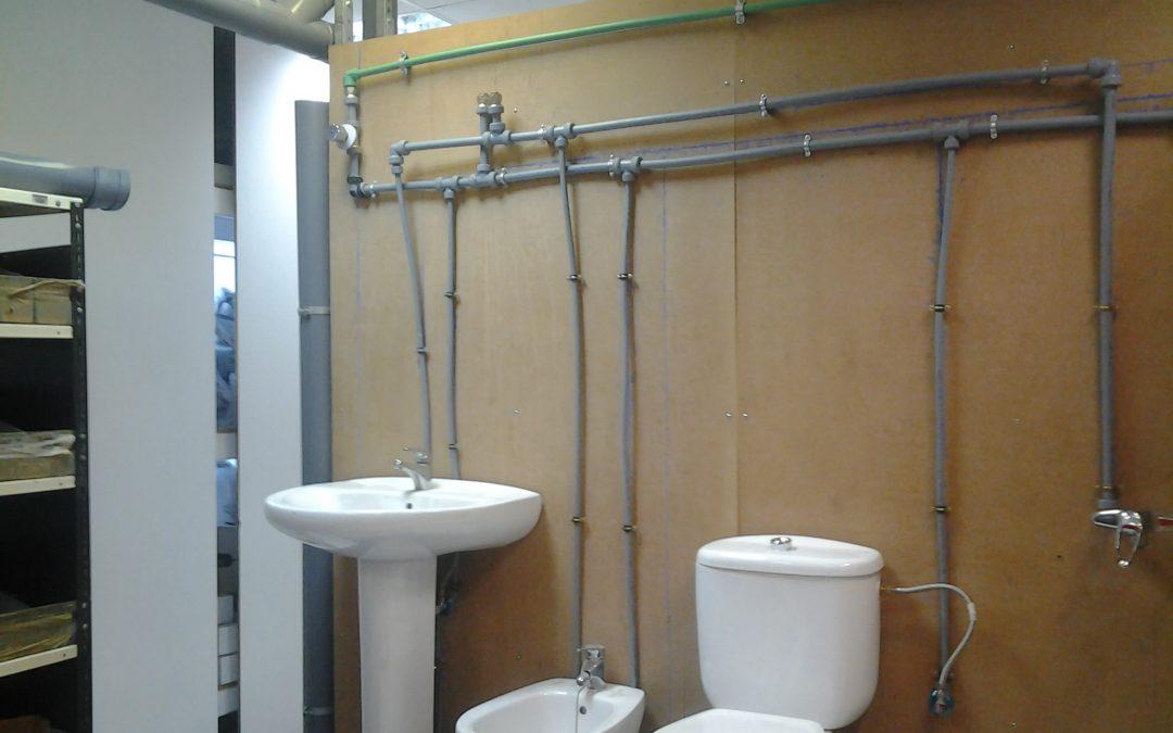 Operaciones de fontanería y calefacción-climatización doméstica